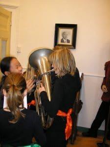 Ontdekking 3 - Krijg ik met mijn eigen LUCHT geluid uit een tuba