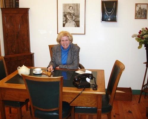 Bezoek van burgemeestersechtpaar Boerma