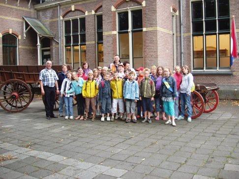 Bezoek groepen 5 en 6 Deken Wehmeijerschool Velddriel aan museum