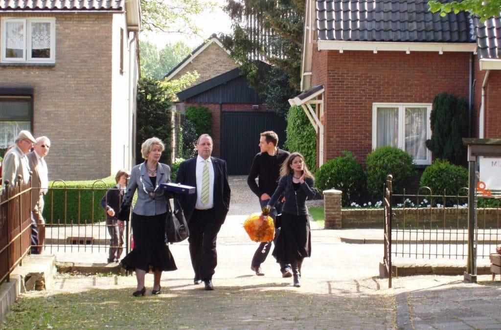Uitreiking Koninklijke onderscheiding in Driels Museum
